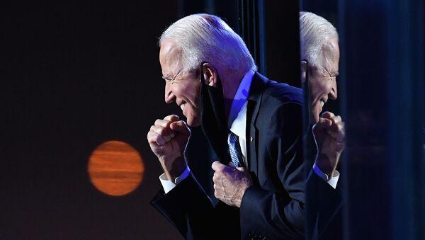 Demokratický kandidát na amerického prezidenta Joe Biden. - Sputnik Česká republika