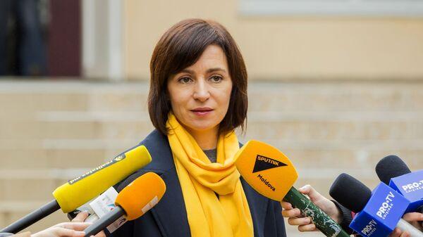 Maia Sanduová - Sputnik Česká republika