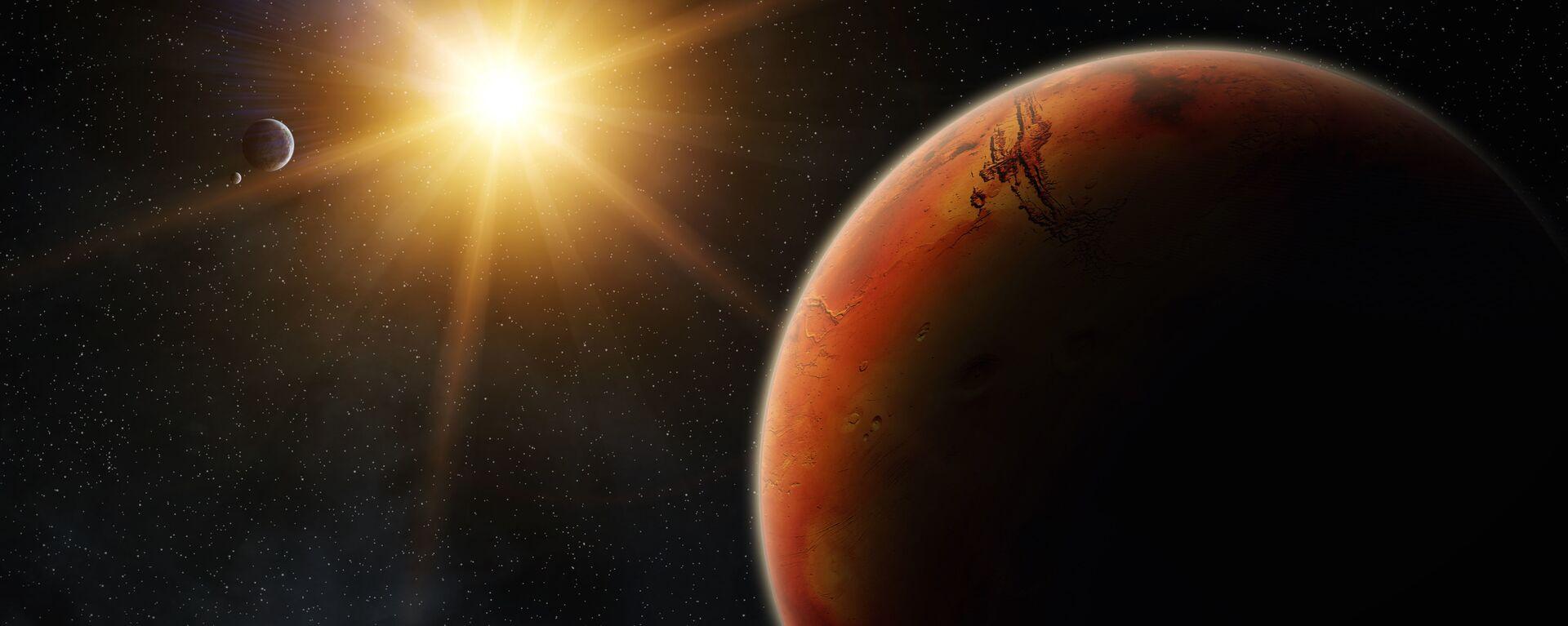 Mars při východu Slunce - Sputnik Česká republika, 1920, 27.04.2021