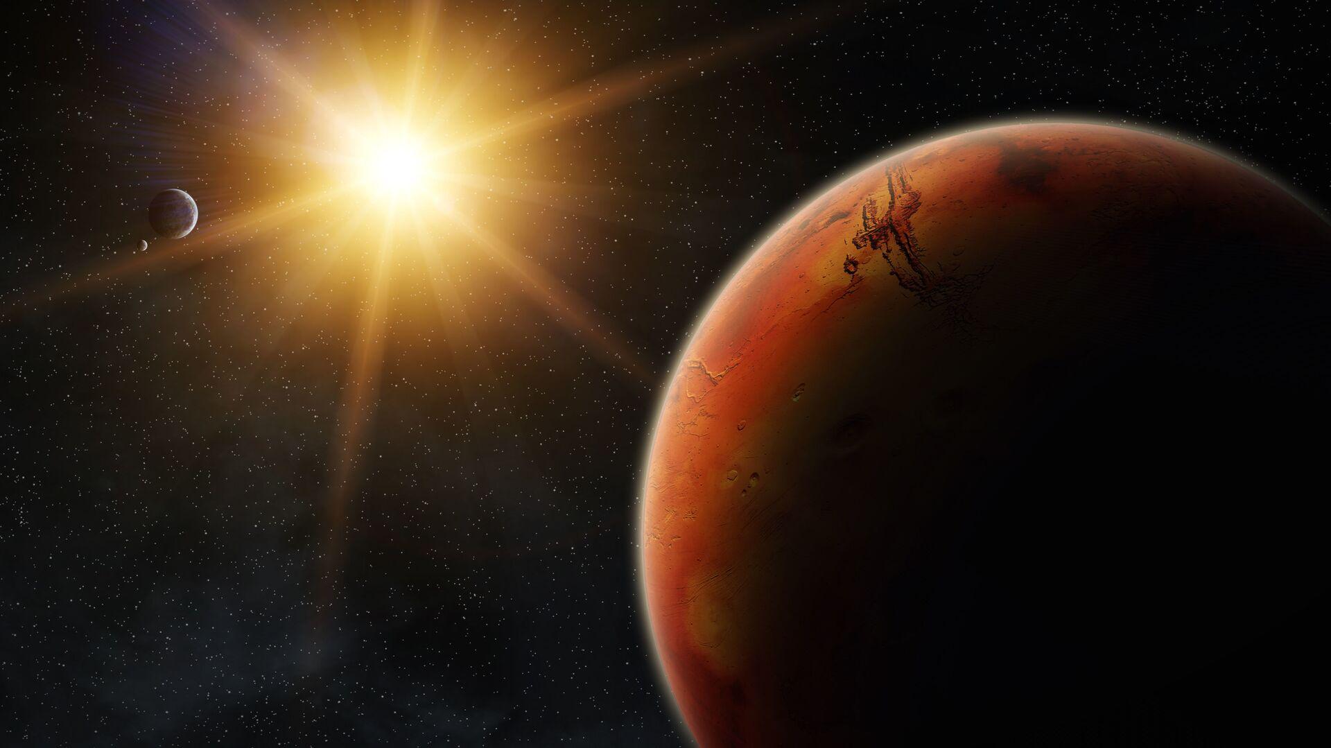 Марс во время восхода солнца - Sputnik Česká republika, 1920, 17.02.2021