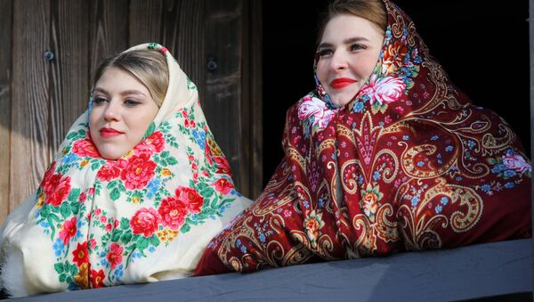 Účastníci akce věnované otevření historického a kulturního komplexu Slobodská Ukrajina v Bělgorodské oblasti - Sputnik Česká republika