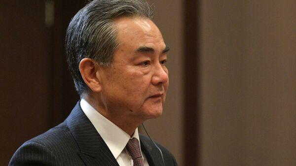 Čínský ministr zahraničí Wang I v ruském Soči. Ilustrační foto - Sputnik Česká republika
