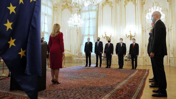 Prezidentka Zuzana Čaputová předá pověřovací listiny novým velvyslancům - Sputnik Česká republika