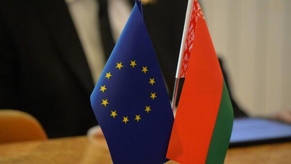 Vlaječky Evropské unie a Běloruska - Sputnik Česká republika