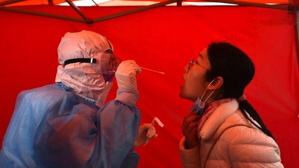 Testování  v Tianjinu v Číně - Sputnik Česká republika