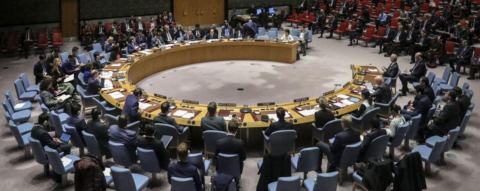 Zasedání Rady bezpečnosti OSN. Ilustrační foto - Sputnik Česká republika, 1920, 16.08.2021