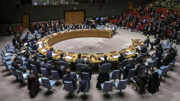 Zasedání Rady bezpečnosti OSN. Ilustrační foto - Sputnik Česká republika