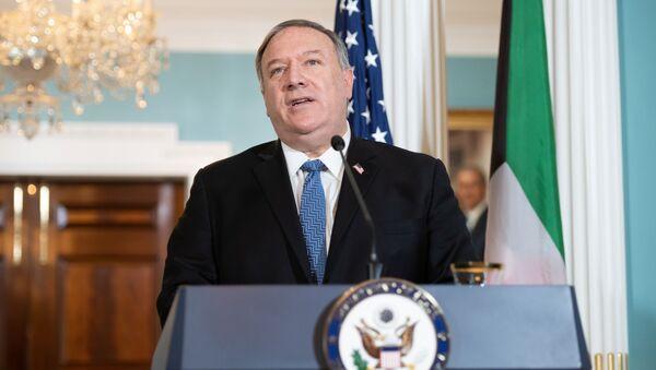 Ministr zahraničí USA Mike Pompeo - Sputnik Česká republika