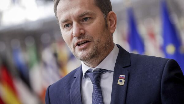 Premiér Igor Matovič - Sputnik Česká republika