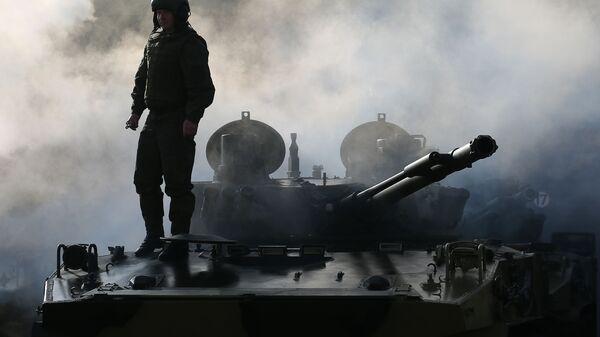Ruské bojové výsadkové vozidlo BMD-4 - Sputnik Česká republika
