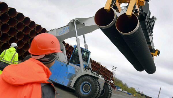 Stavba plynovodu Nord Stream 2  - Sputnik Česká republika