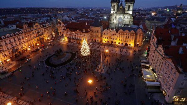 Vánoční strom v Praze - Sputnik Česká republika
