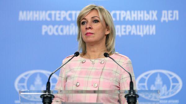 Mluvčí ruského ministerstva zahraničních věcí Maria Zacharovová - Sputnik Česká republika