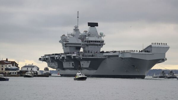 Nová britská letadlová loď HMS Prince of Wales - Sputnik Česká republika