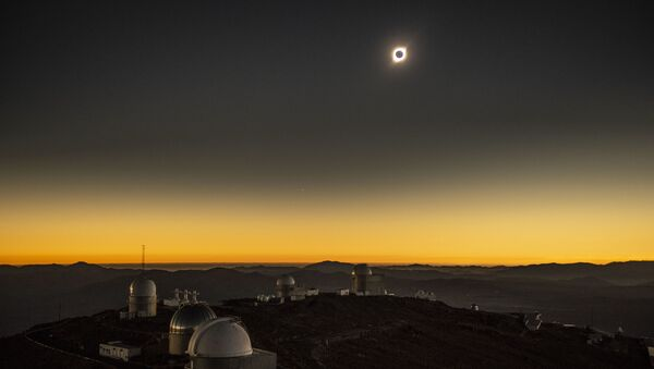 Úplné zatmění Slunce v Chile, 2. červenec 2019 - Sputnik Česká republika