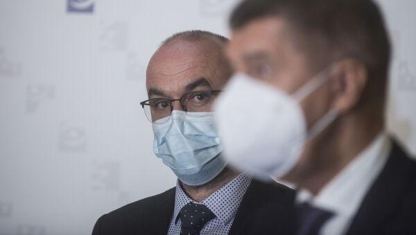 Setkání premiéra Andreje Babiše s ministrem zdravotnictví Janem Blatným. - Sputnik Česká republika