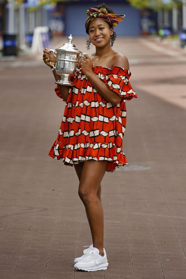 Japonská profesionální tenistka Naomi Ósakaová. - Sputnik Česká republika