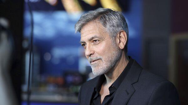 Herec George Clooney - Sputnik Česká republika