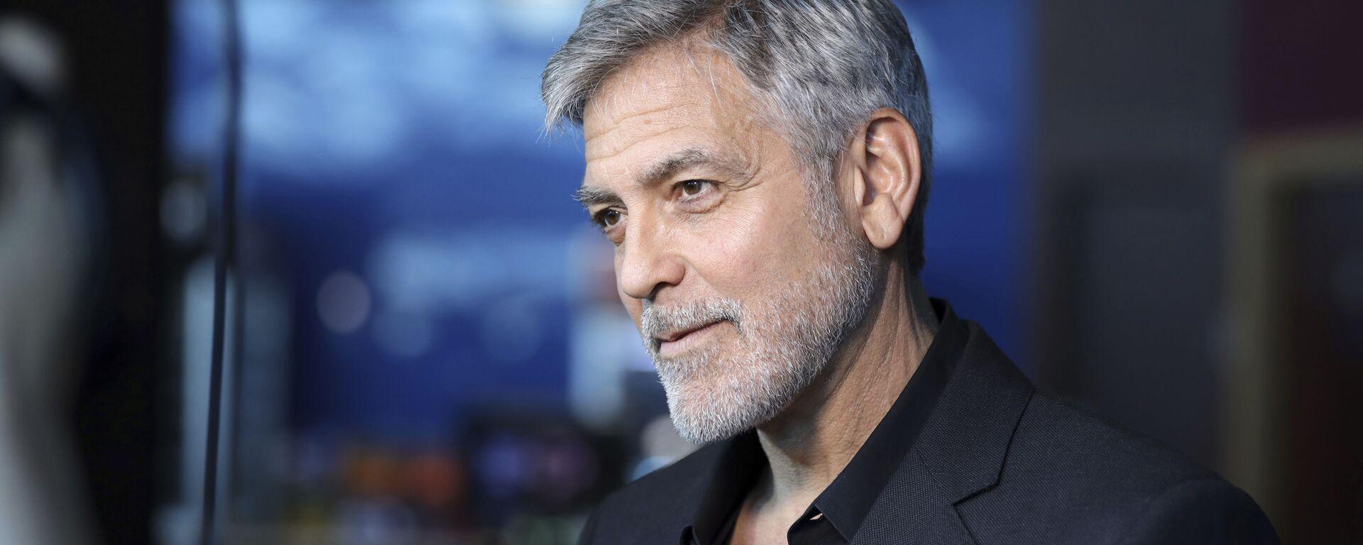 Herec George Clooney - Sputnik Česká republika, 1920, 17.12.2020