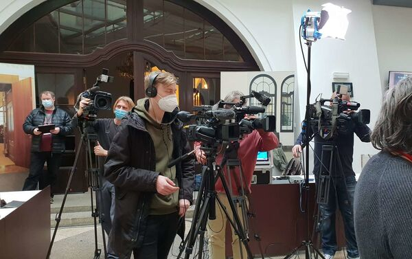 Tisková konference k iniciativě proti omezení svobodného podnikání - Sputnik Česká republika