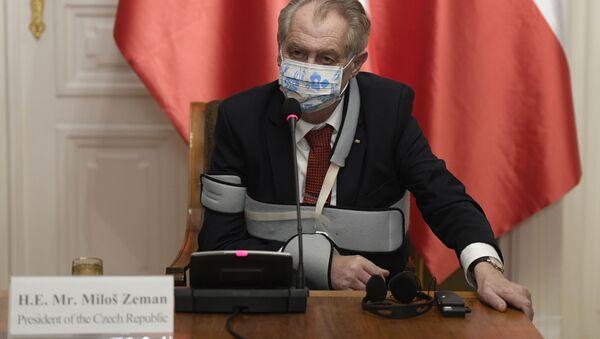 Prezident Miloš Zeman - Sputnik Česká republika