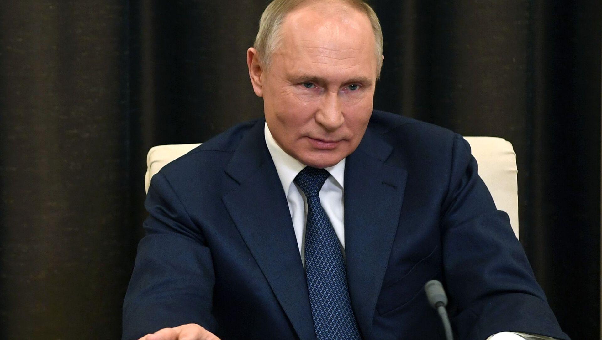 Ruský prezident Vladimir Putin - Sputnik Česká republika, 1920, 17.02.2021