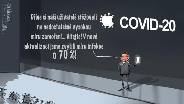 Už jste aktualizovali svůj covid-19 do verze covid 2.0 - Sputnik Česká republika