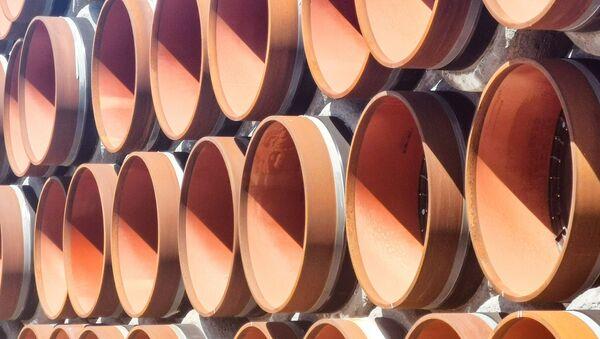 Potrubí pro stavbu plynovodu Nord Stream 2 - Sputnik Česká republika