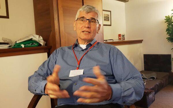 Epidemiolog Jiří Beran - Sputnik Česká republika