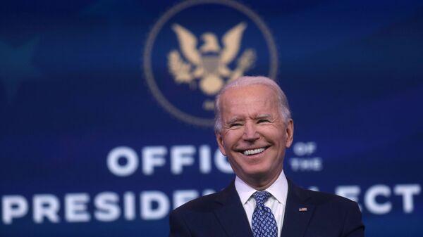 Zvolený americký prezident Joe Biden - Sputnik Česká republika