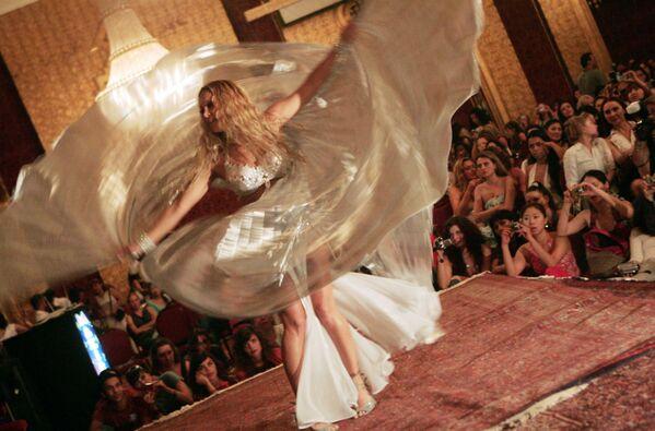 Americká tanečnice během vystoupení v Káhiře - Sputnik Česká republika