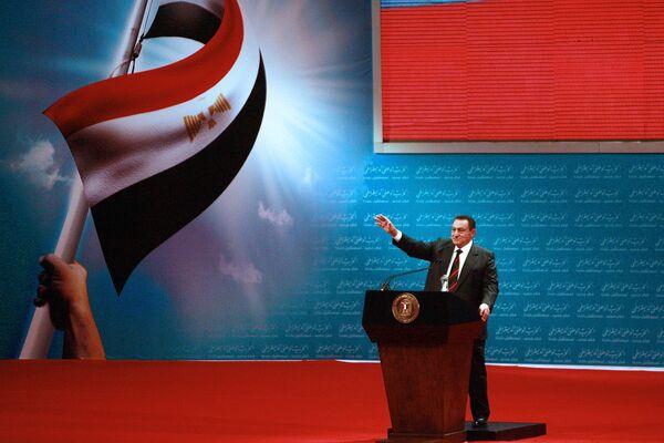 Prezident Egypta v letech 1981–2011 Husní Mubárak - Sputnik Česká republika