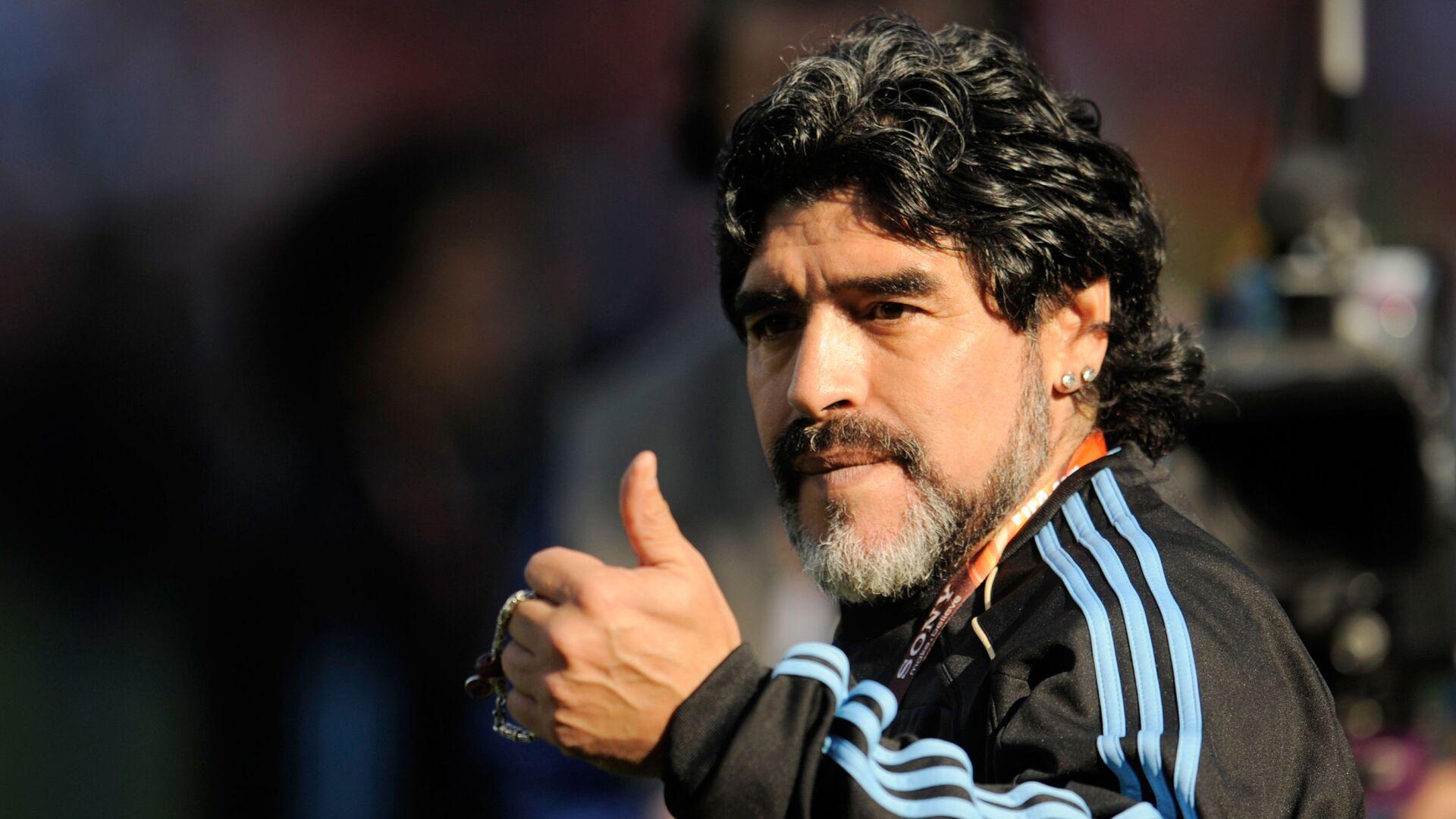Diego Maradona - Sputnik Česká republika, 1920, 29.09.2021