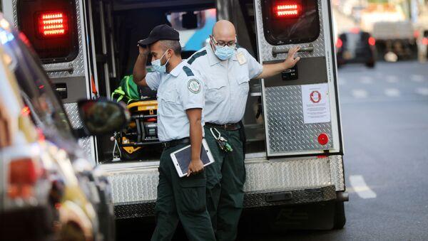 Ambulance v USA - Sputnik Česká republika