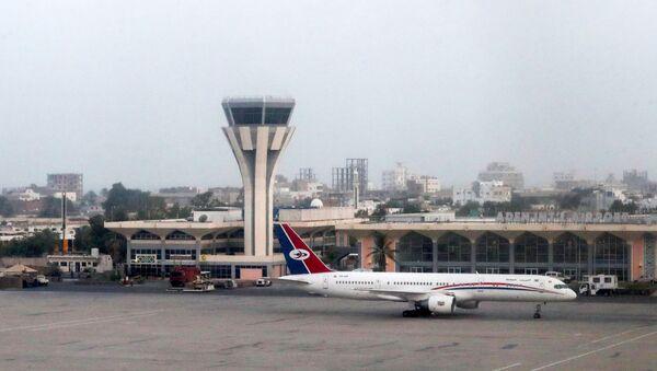 Adenské mezinárodní letiště - Sputnik Česká republika