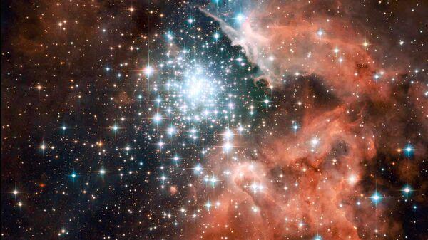 Туманность NGC 3603 в спиральном рукаве Киля нашей Галактики - Sputnik Česká republika