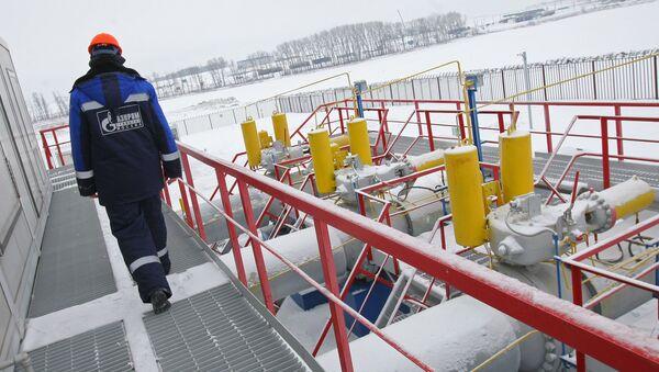 Zaměstnanec Gazpromu - Sputnik Česká republika