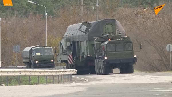 Ministerstvo obrany RF poprvé zveřejnilo nové záběry s raketami Jars - Sputnik Česká republika