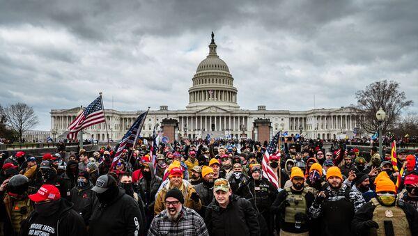 Protesty ve Washingtonu  - Sputnik Česká republika