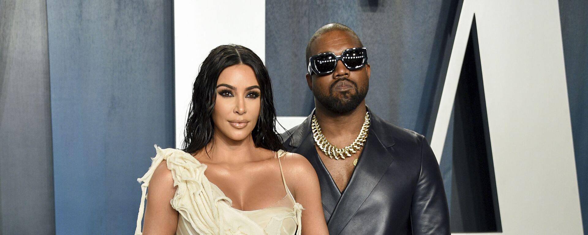Kim Kardashianová a rapper Kanye West - Sputnik Česká republika, 1920, 06.06.2021