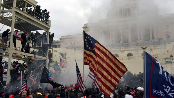 Útok na Kongres - Sputnik Česká republika
