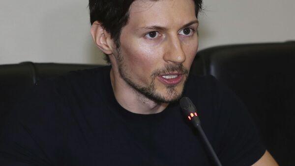 Pavel Durov - Sputnik Česká republika