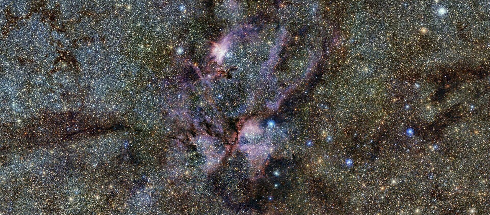 Mlhovina NGC 6357 v souhvězdí Štíra - Sputnik Česká republika, 1920, 13.01.2021