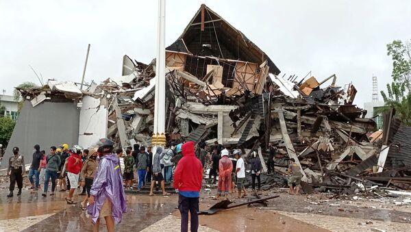 Zemětřesení v Indonésii - Sputnik Česká republika