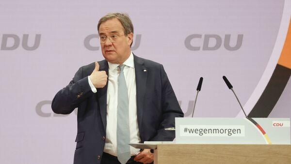 Předseda CDU Armin Laschet - Sputnik Česká republika