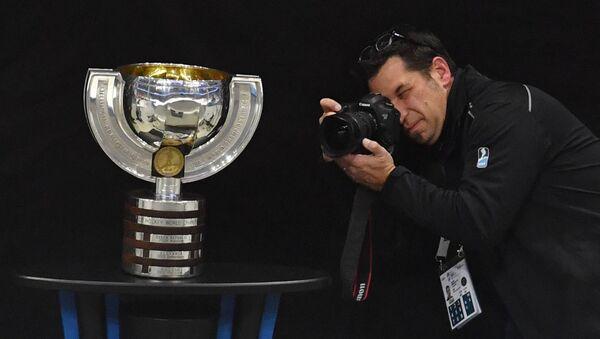 Pohár pro vítěze hokejového mistrovství světa. Ilustrační foto - Sputnik Česká republika