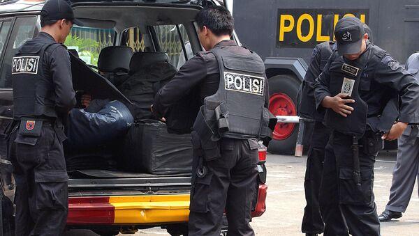 Indonéská policie - Sputnik Česká republika