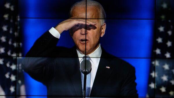 Kandidát na prezidenta USA za Demokratickou stranu Joe Biden - Sputnik Česká republika