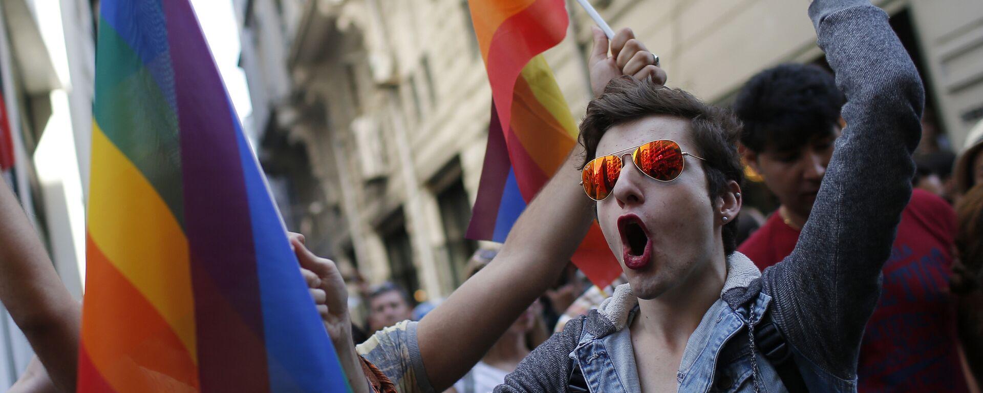 Pride week. Ilustrační foto - Sputnik Česká republika, 1920, 24.01.2021