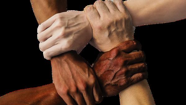 Ruce lidí s jinou barvou pleti - Sputnik Česká republika